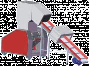 Подаващ конвейр с метален детектор